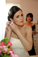 Candid Bridal Portrait,  Artsy Photography, South Jersey Wedding, Christine Foster photo
