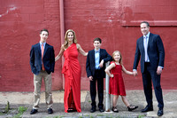 Cool Hip Urban Stylistic Family photo, Philadelphia Mitzvah, the Skybox, Christine Foster photo